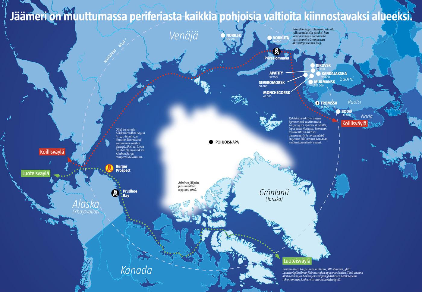 Arktis-graafi (Emmi Skytén/Iiro Törmä)