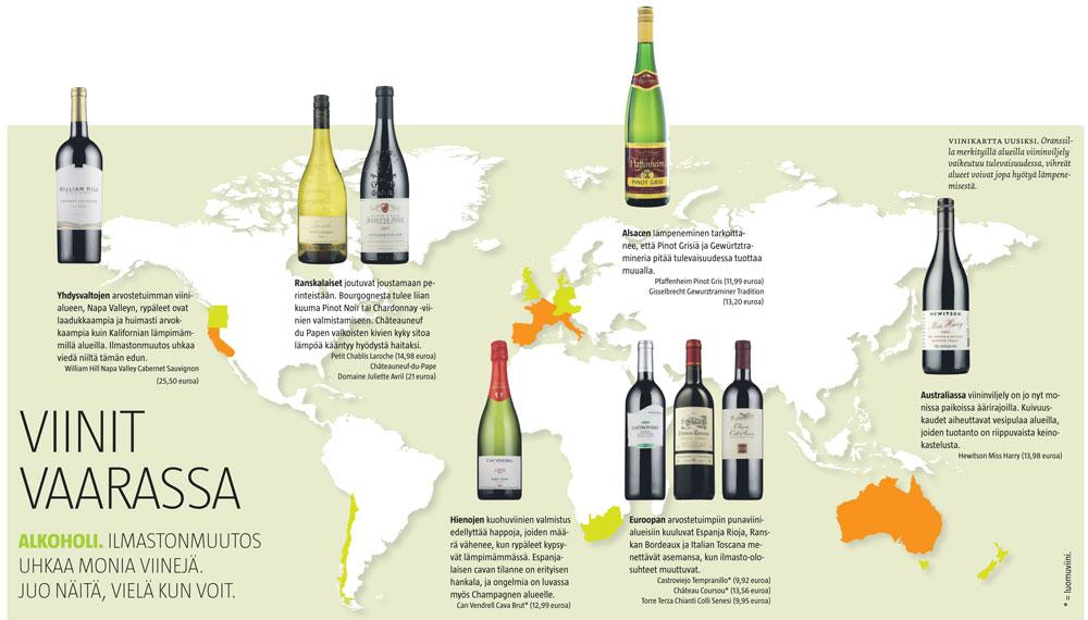 Viinit Vaarassa Vihrea Lanka