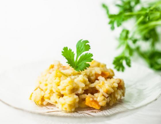 Vegaaninen risotto