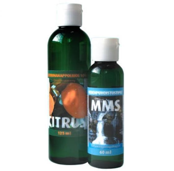 MMS vedenpuhdistustipat