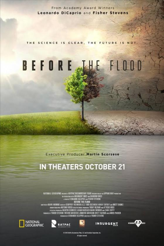 Before the Flood -juliste