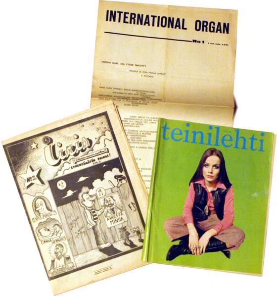 Vanhoja lehtiä
