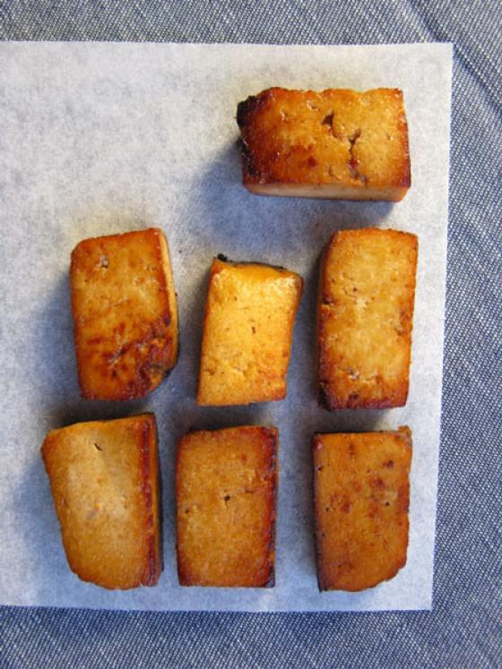 Makeat tofupalat.