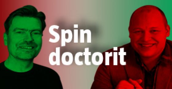 Spin doctorit.