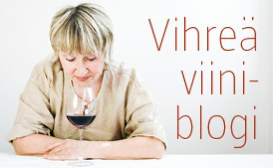 Vihreä viiniblogi.