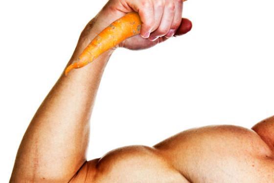 Porkkana ja hauis.