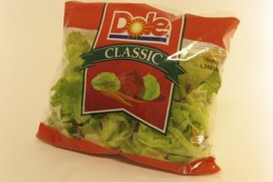 Suojattua salaattia.