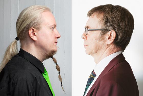 Tuomo Liljenbäck ja Kari Tiilikka