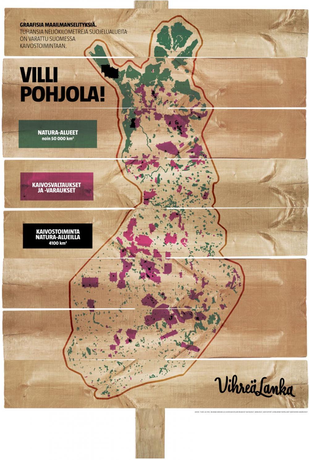 Kaivostoiminta Natura-alueilla (Sammeli Heikkinen/Iiro Törmä)