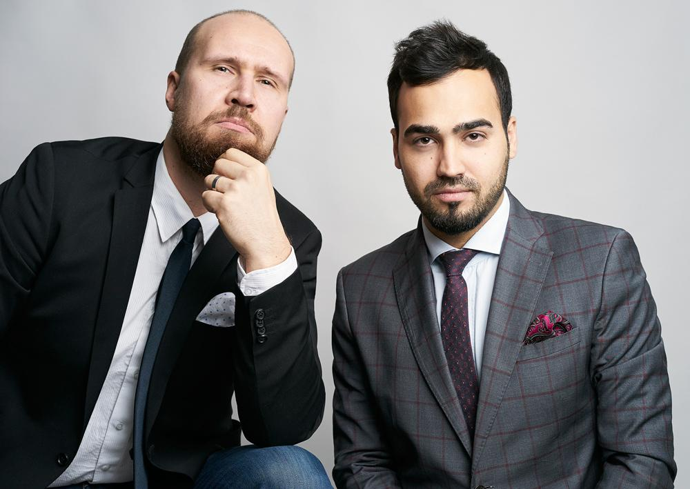 Touko Aalto ja Ozan Yanar