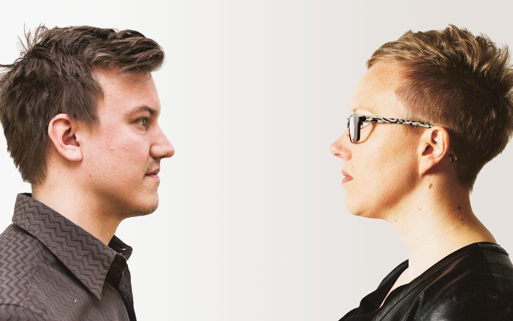 Jehki Härkönen ja Heidi Niskanen