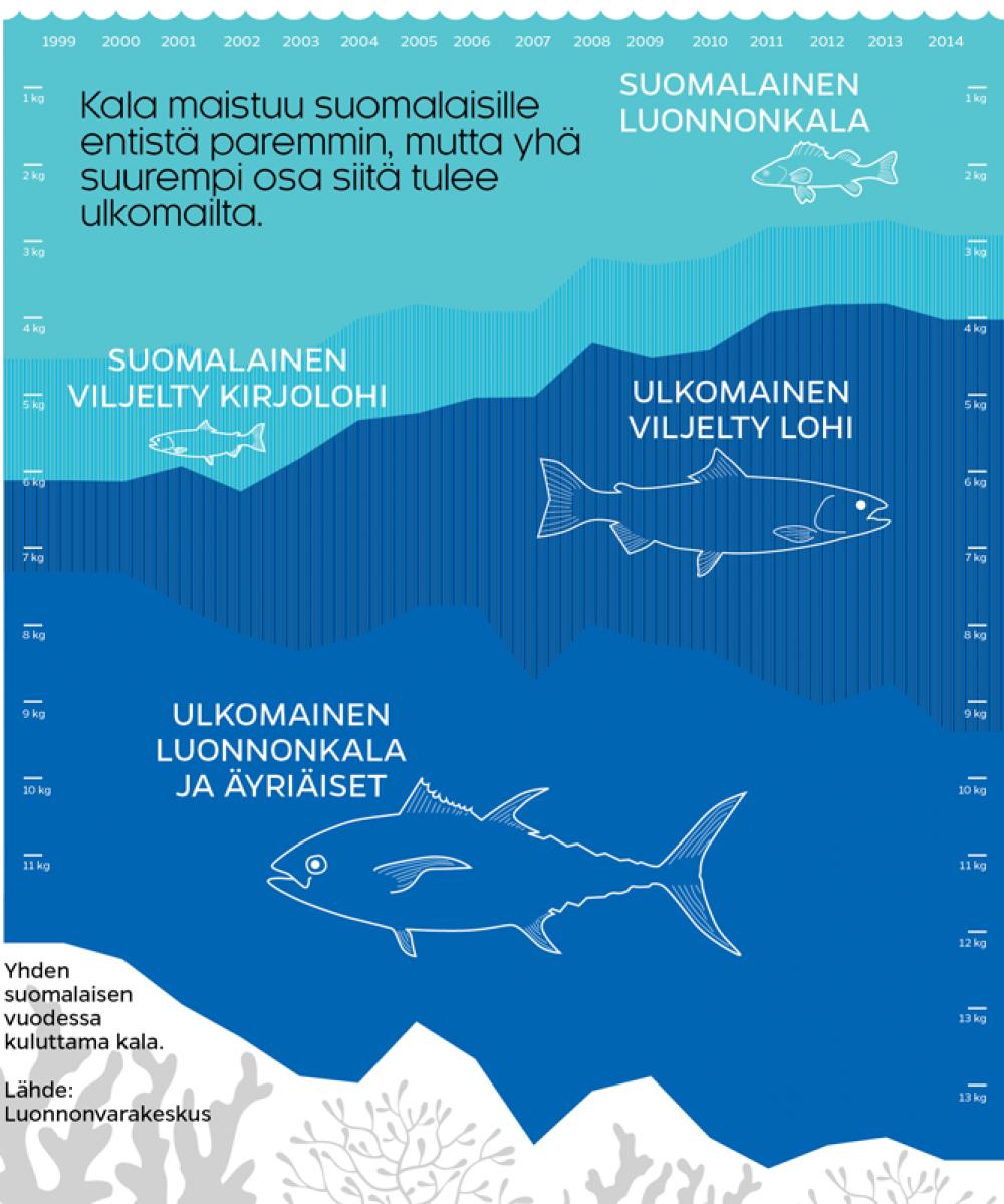 Tuontikala jyrää kaupassa kotimaisen (Lasse Leipola / Iiro Törmä)