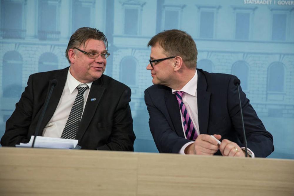 Timo Soini ja Juha Sipilä
