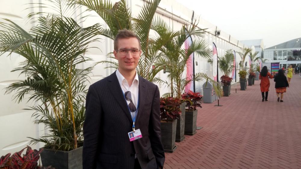 Oras Tynkkynen Liman ilmastokokouksessa