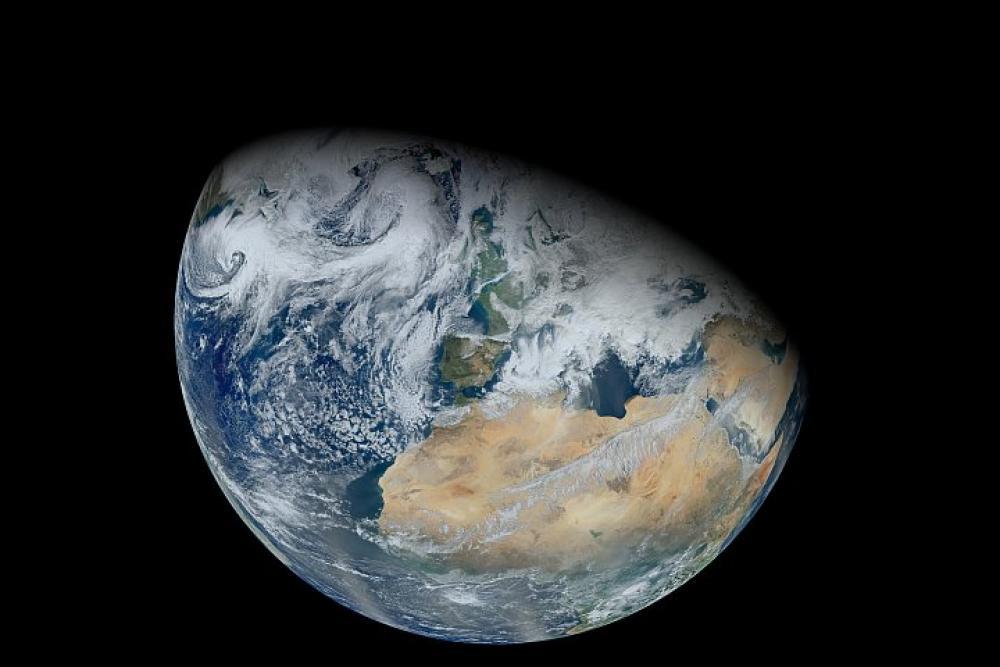 Maa avaruudesta