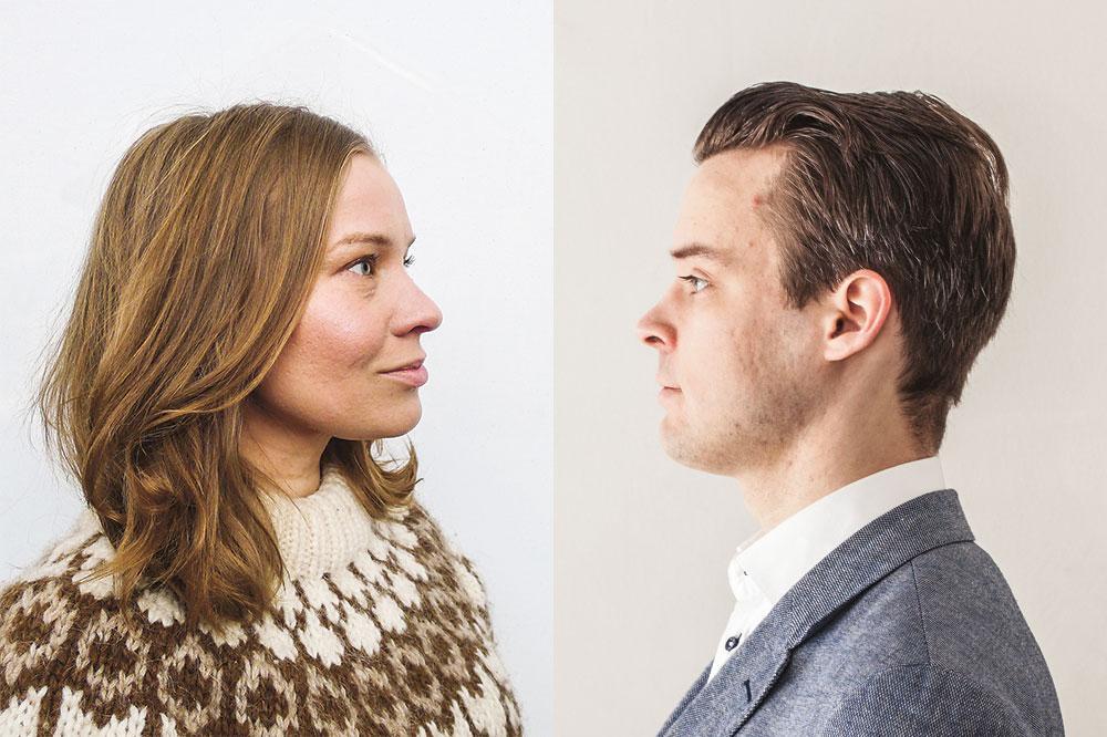 Maisa Juntunen ja Mikko Kiesiläinen