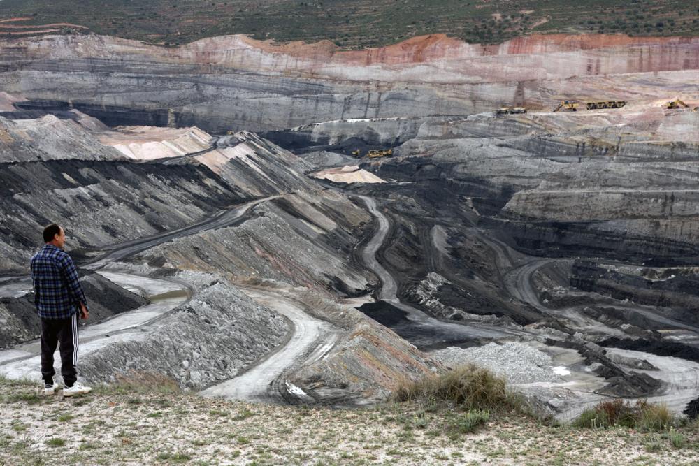 Estercuelin hiilikaivos Espanjassa