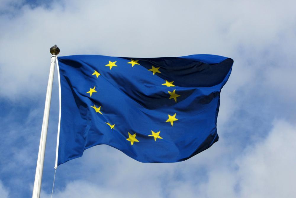 EU-lippu liehuu
