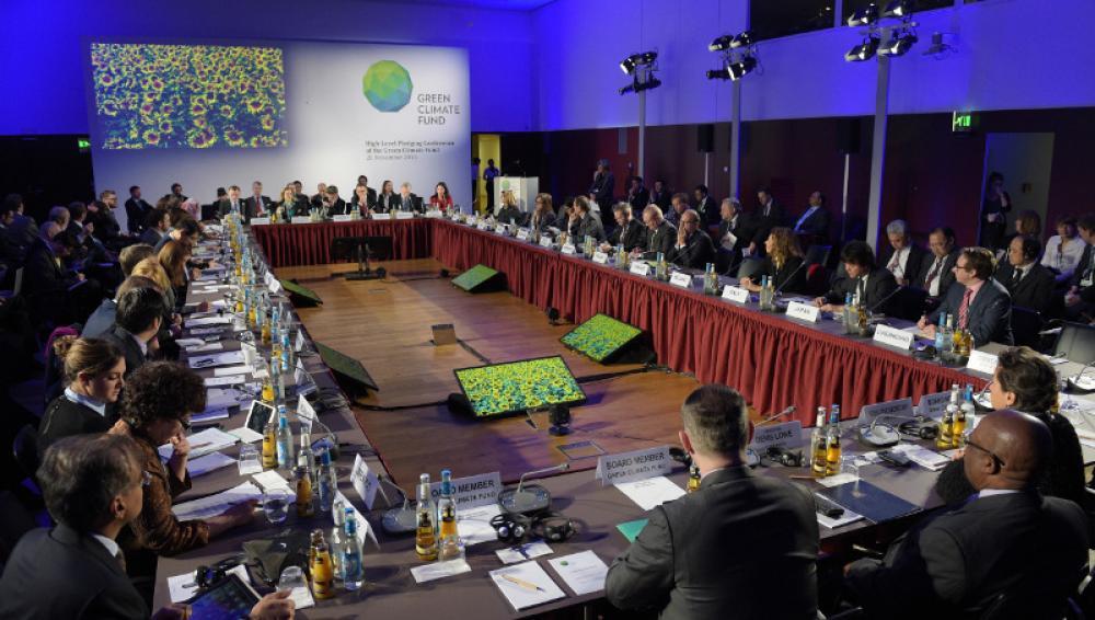 Vihreän ilmastorahaston kokous Berliinissä