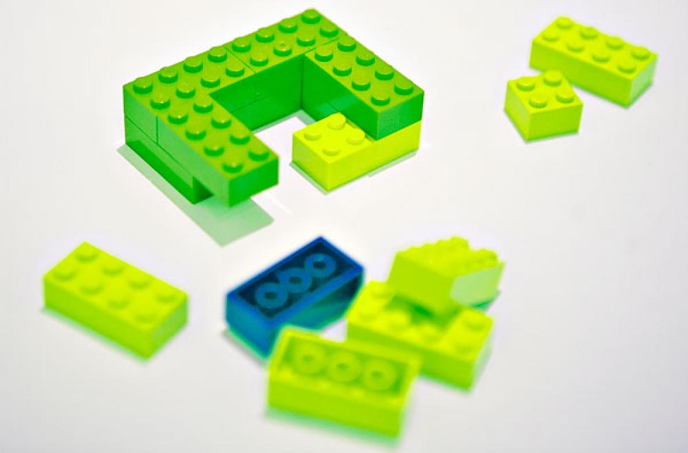 Lego-kuvitus.