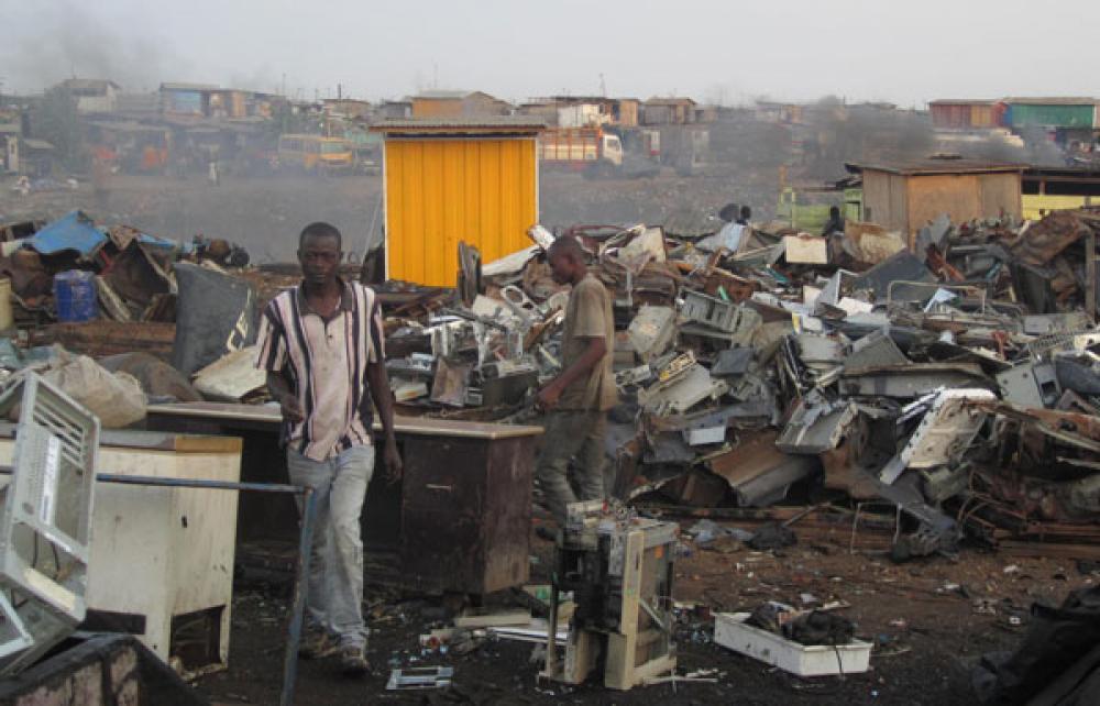 Jätettä Afrikassa