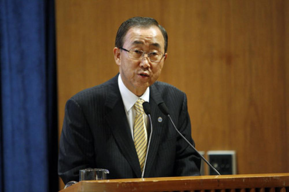 Ban Ki-Moon.