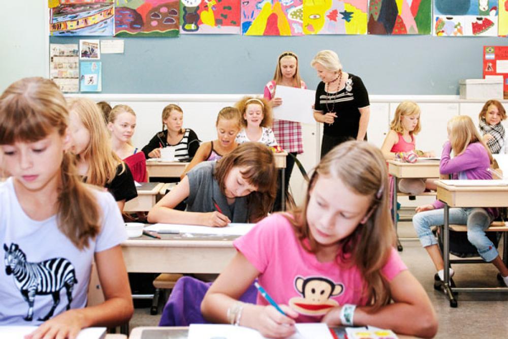Kaisaniemen peruskoulu.