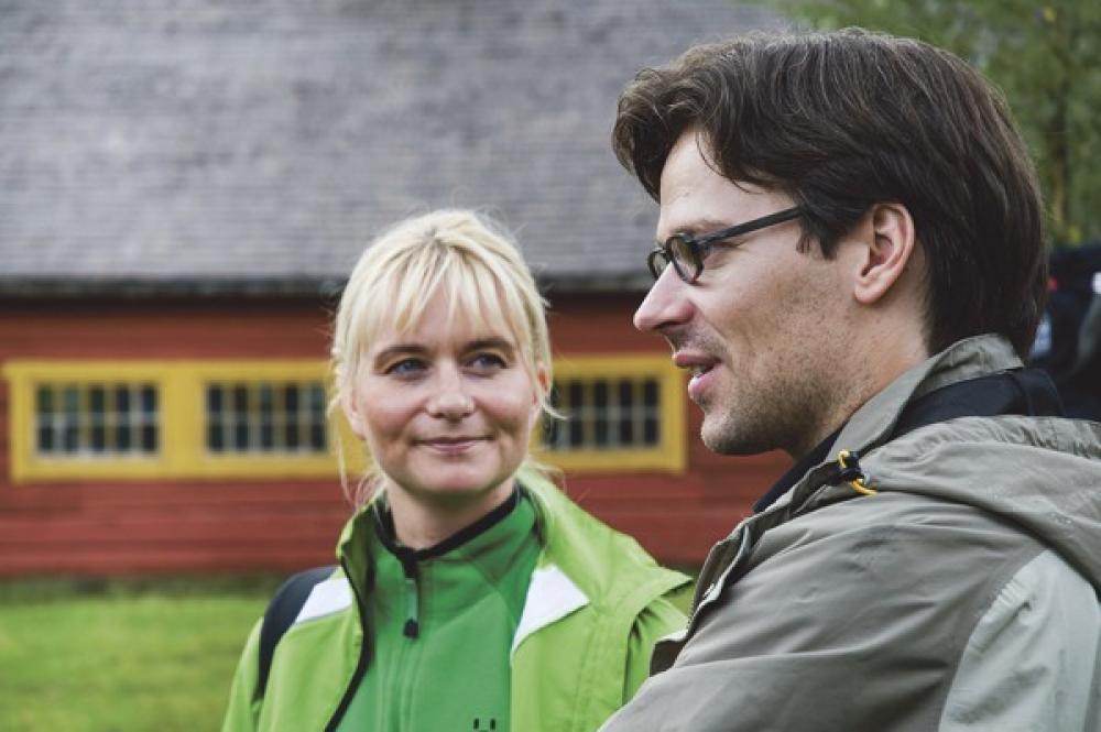 Janina Andersson ja Ville Niinistö.