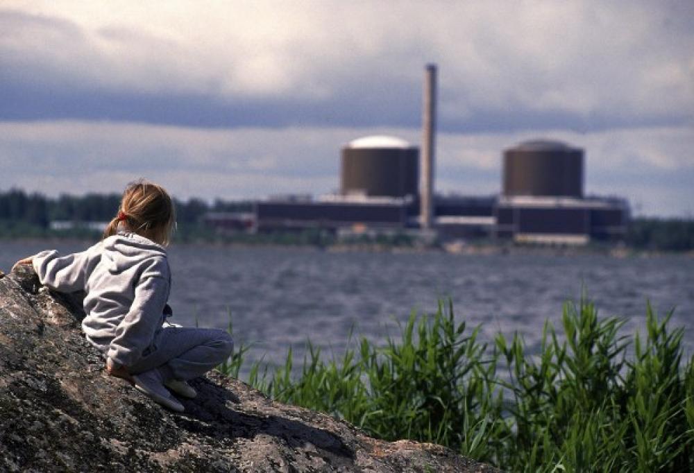 Ydinvoimaa Loviisassa.