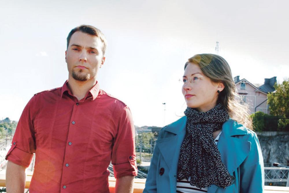 Lauri Myllyvirta ja Meri Pukarinen.