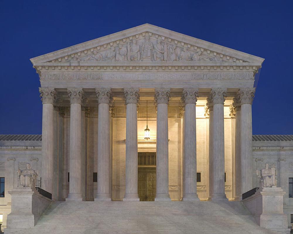 Yhdysvaltain korkein oikeus.