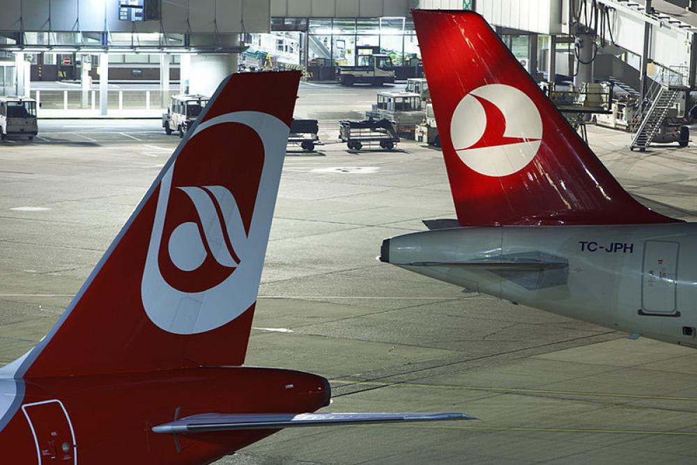 Lentokenttä.