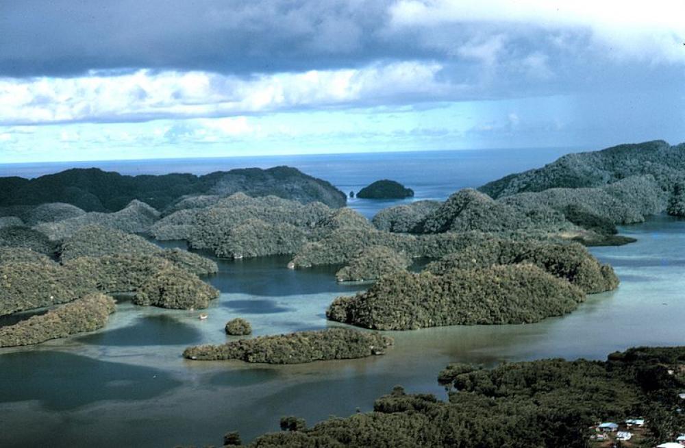 Palaun saaria.