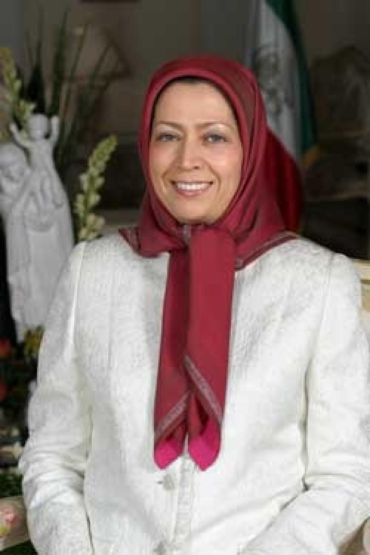 Maryam Rajavi.