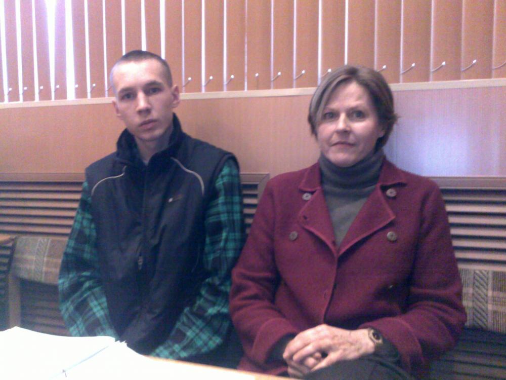 Aleksei Nikiforov ja Heidi Hautala.