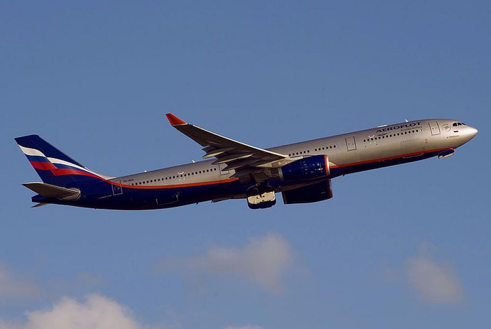 Aeroflotin kone.