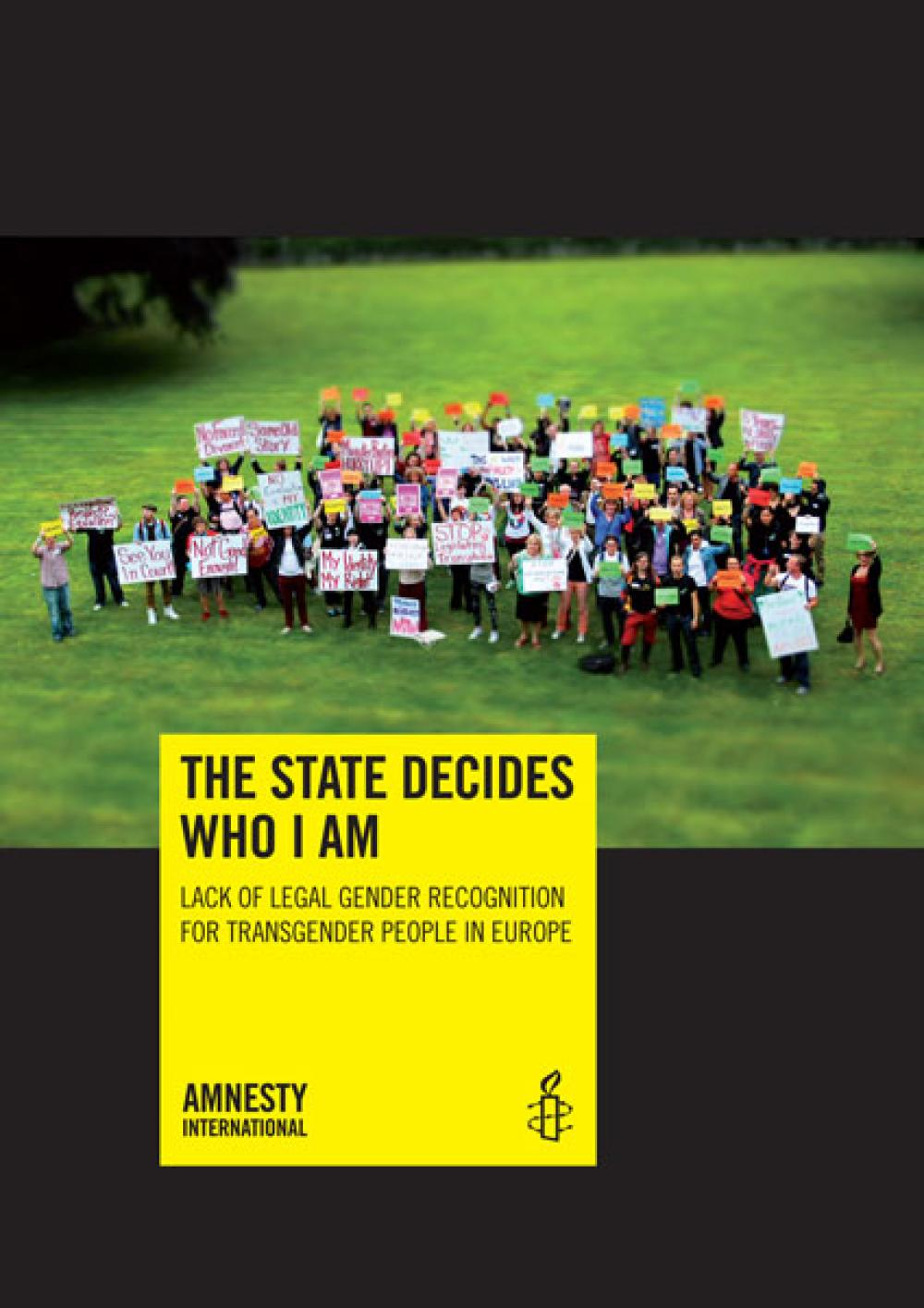 The State Decides Who I Am