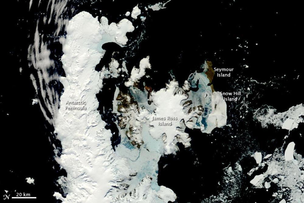 Antarktiksen niemimaa.