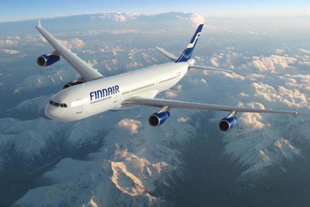 Finnairin kone.