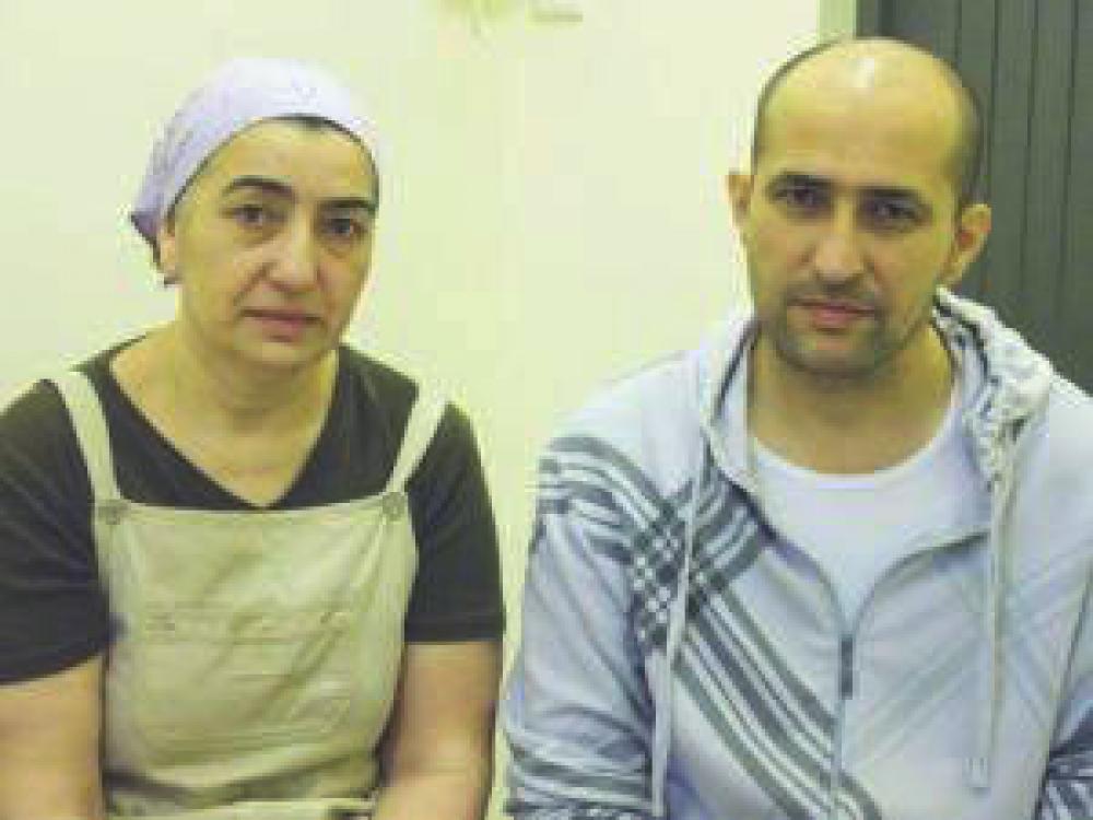 Hadizhat Gatajeva ja Malik Gatajev.
