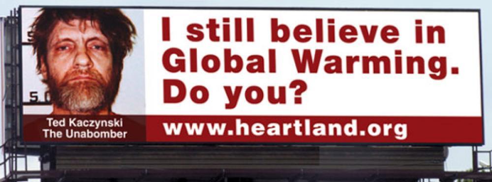 Heartland-instituutin mainos.