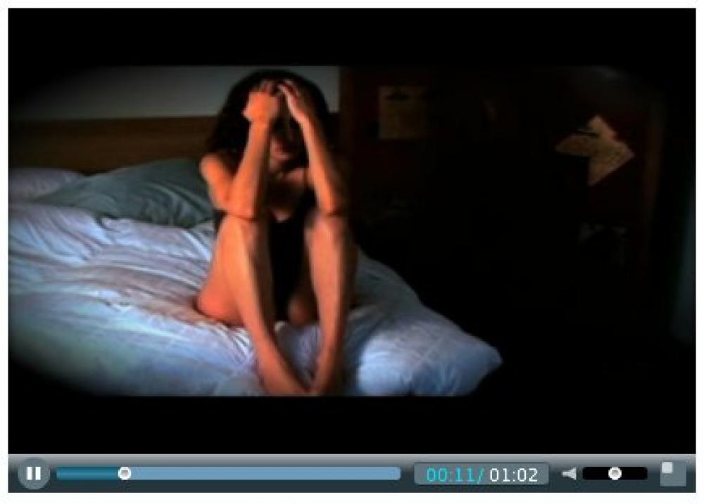 Ruutukaappaus ihmiskauppavideosta.