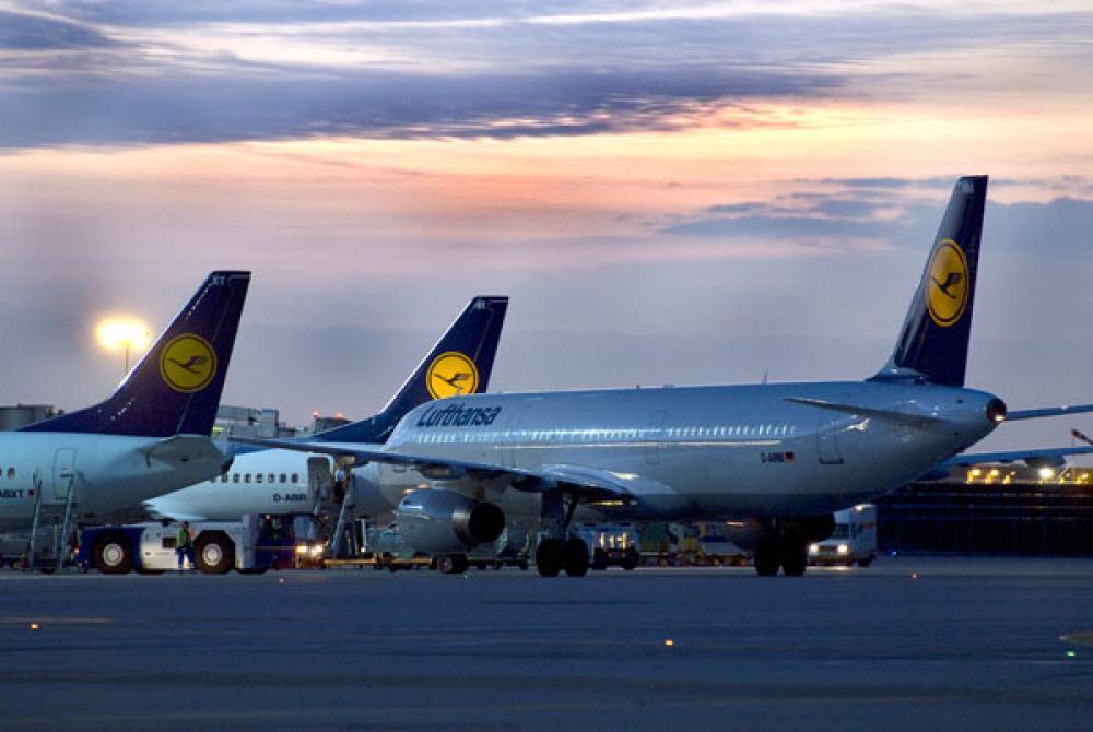 Lufthansan koneita.