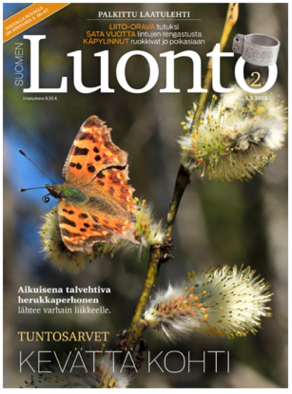 Suomen Luonto -lehden kansi.