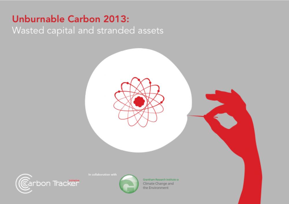 Unburnable Carbon 2013 -raportti.
