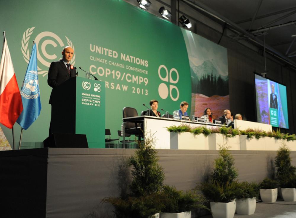 Puolan ympäristöministeri Marcin Korolec.