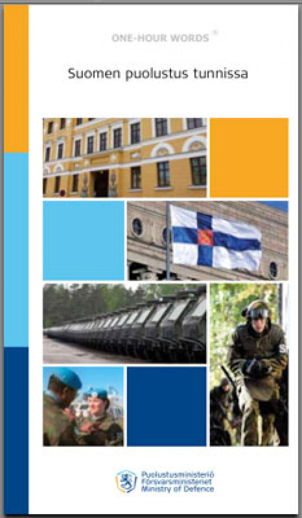 Suomen puolustus tunnissa.