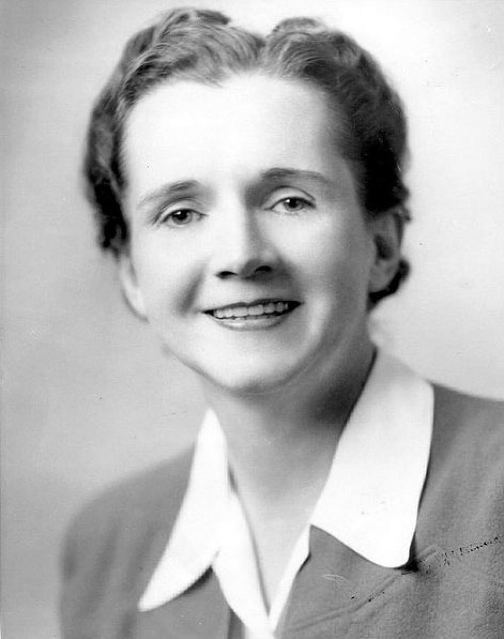 Rachel Carson.