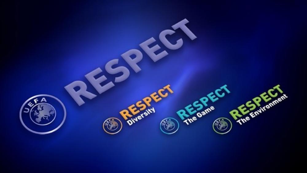 UEFA:n Respact-logot.
