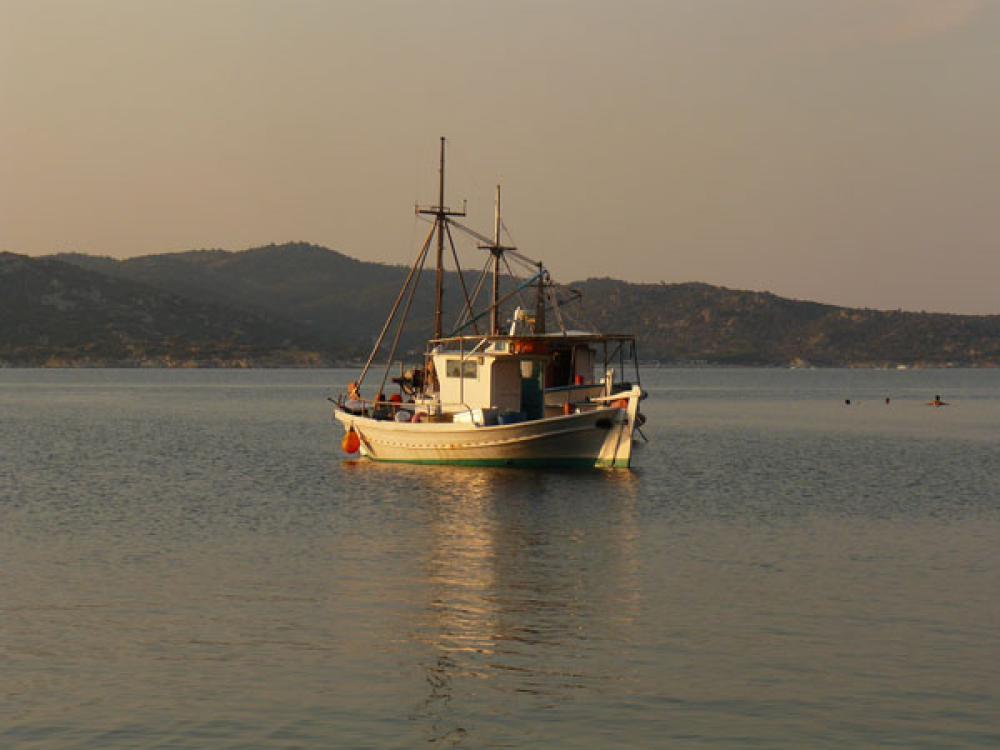 Kalastusalus Kreikassa.